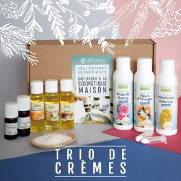 coffret d'ingrédient crèmes naturelles